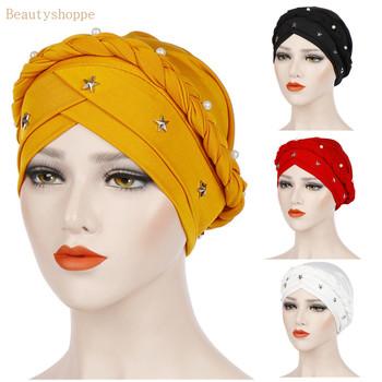 Warkocz islamski mleka jedwabiu poliester modlitwa kapelusze okłady hidżab czapki kobiety muzułmańskie Cap islamski hidżab Turban tanie i dobre opinie Dla dorosłych
