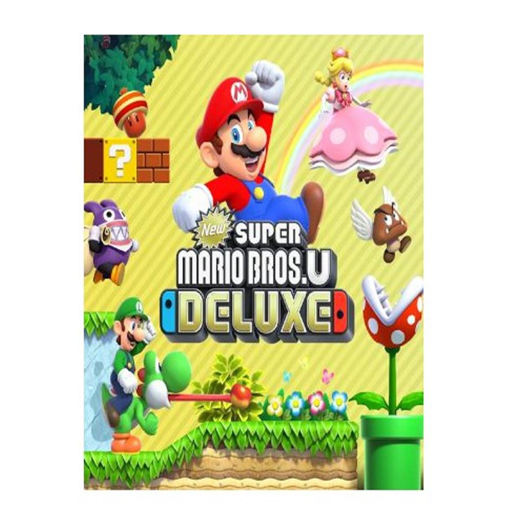 Switch New Super Mario Bros U Deluxe Videojuego Nintendo Switch