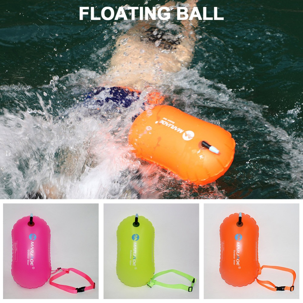 PVC Swimming Buoy Safety Float Bag Tow Float Swimming Flotation Inflatable Hot
