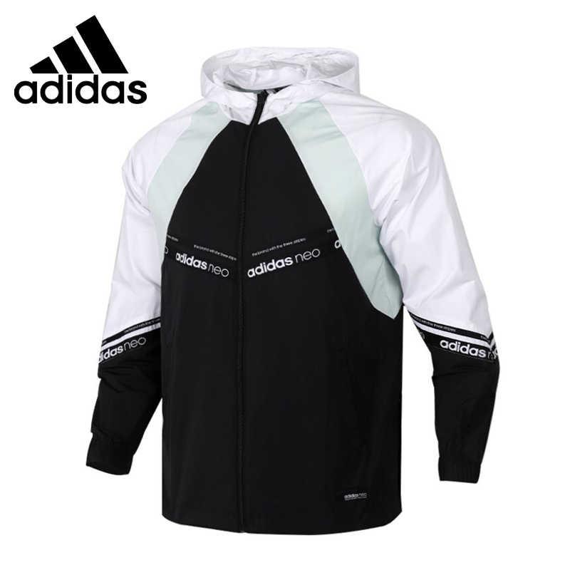 Sistemáticamente Monopolio baños  Nueva chaqueta deportiva con capucha para Hombre Adidas NEO M SS WB| | -  AliExpress