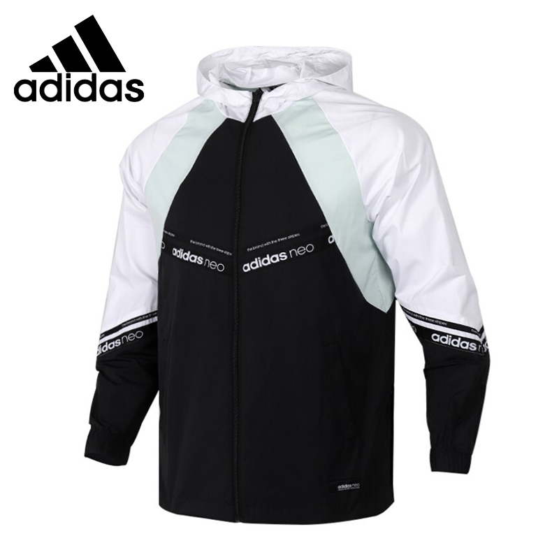 Original New Arrival  Adidas NEO M SS WB Men's Jacket Hooded  Sportswear