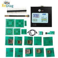 Più nuovo XPROG V6.26 V6.17 V6.12 V5.55 V5.86 X PROG M Scatola di Metallo Xprog V5.86 XPROG M ECU Attrezzo del Programmatore di XProg M Box pieno SIM Card E Adattatori