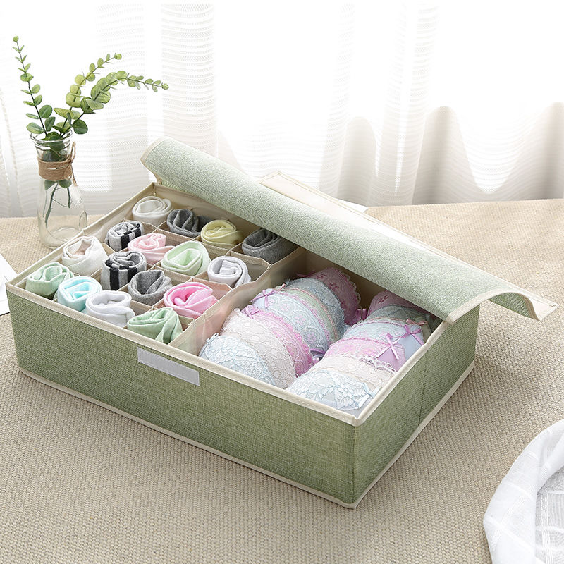 Drawer Organizer,Underwear/Sock/Underpants Home Storage Box,Underwear Non-woven Fabric Organiser Bag,Covered Finishing Box