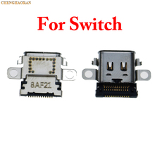 5Pcs Originalพอร์ตชาร์จสำหรับNintendo Switch NSคอนโซลชาร์จพอร์ตConnector Type C Chargerซ็อกเก็ตไม่สวิทช์Lite