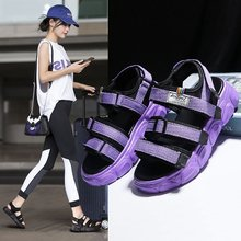 Summer 2020 new fashion wild fairy style sports Roman sandals female muffin thick bottom increased sandals Z1014 sandals female 2020 summer new fashion wild sports casual sandals increased thick bottom muffin sandals z922
