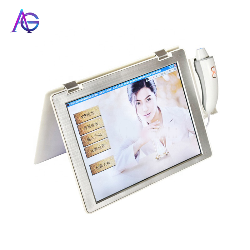 Adg Laptop Skin Detector Beauty Salon Face Auto Intelligent Scanner Analysis  Moisture Management Instrument  Spa And Household
