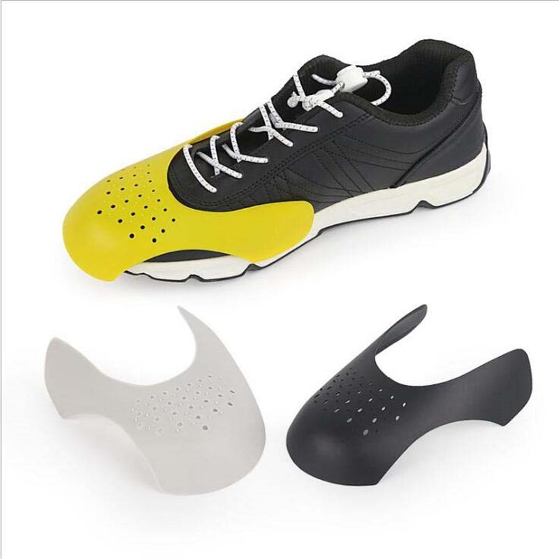 1 пара, защита от сгибания и трещин, для обуви, растягиватель, защита для кроссовок, универсальный шейпер, моющийся, легкий, с защитой от склад...