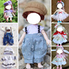 16CM17CM 8 POINTS  BJD 13 joints doll clothes dress up 3D eyes  girl children play house toy Dolls, clothes,