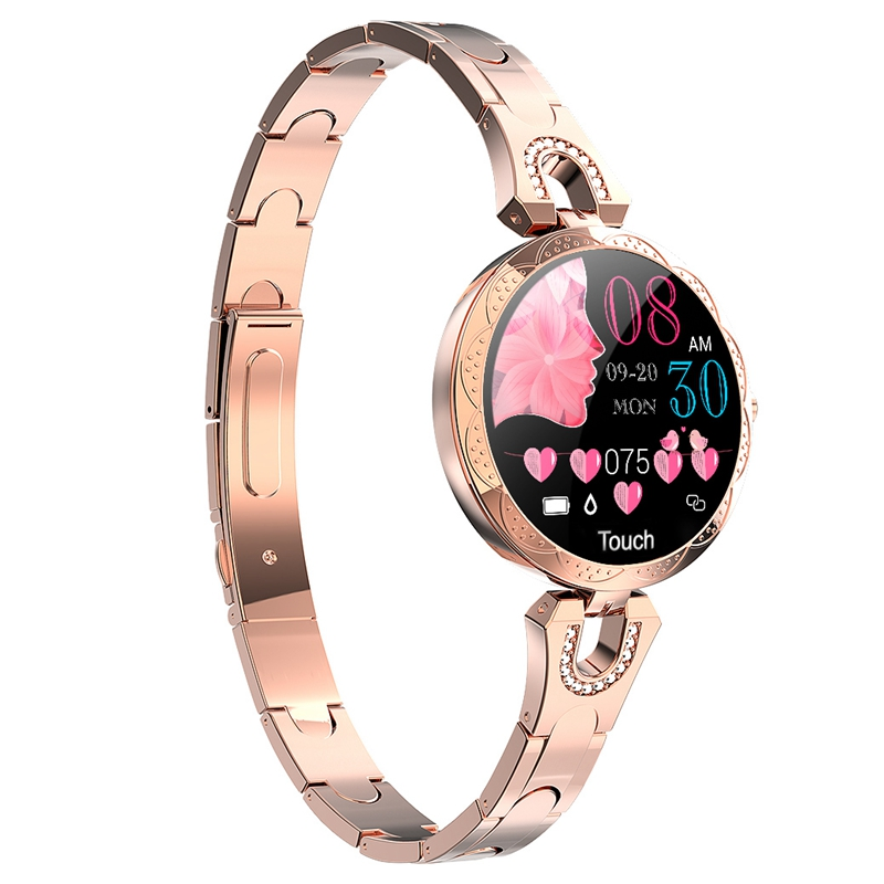 Ms. Smart Watch IP67 Sports Fitness Heart Rate + Blood Pressure + Pedometer + Sleep Monitor Smart Bracelet Watch For Iphone 11