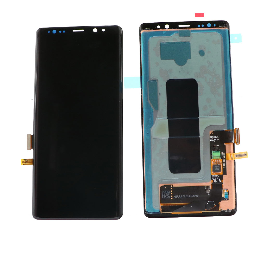 ORIGINAL 6 3 39 39 Display with Black Pixels LCD for SAMSUNG Galaxy Note8 N9500 N950F N900D N900DS Touch Screen Digitizer with Frame in Mobile Phone LCD Screens from Cellphones amp Telecommunications