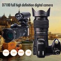 D7100 HD POLO Digital Camera Professional SLR Video Camera 33Million Pixel Auto Focus DSLR Camera 24X Optical Zoom Three Lens