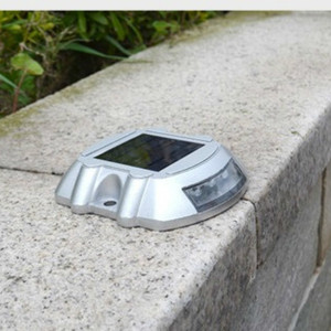Image 1 - 新しい屋外 6LED ソーラー防水ライト道路信号インジケータ防水ガーデン風景ライト埋葬ライト芝生照明