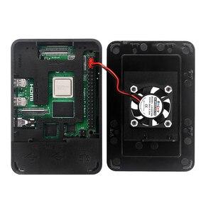 Image 5 - Raspberry pi 4 modelo b kit 2gb/4gb placa ram + dissipador de calor caso 32/64 cartão sd cabo hdmi fonte de alimentação para raspberry pi 4b