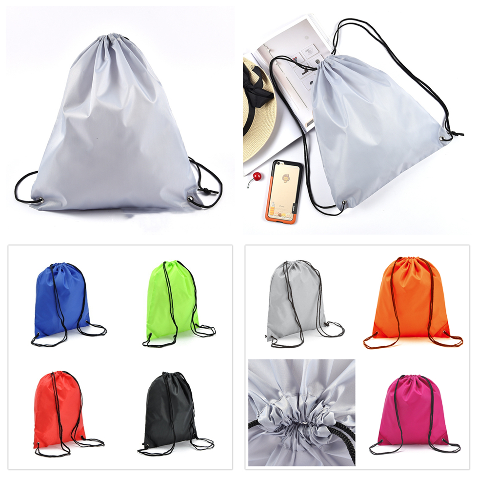Travel Sport Drawstring Bag Fitness Yoga Exercise Backpack Cloth Shoes Back Pack Storage Unisex Lightweight Tow Bag Summer