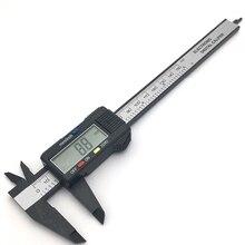 Ruler Gauge Micrometer Vernier-Caliper Measuring-Tool Carbon-Fiber Digital Plastic Electronic