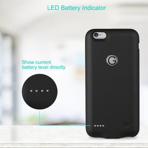 Image 4 - 3000mAh Battery Case Battery Charger for iPhone 6/ 6s Plus Power Bank Charging Case for iPhone 6/ 6s Plus Battery Charger Cover.
