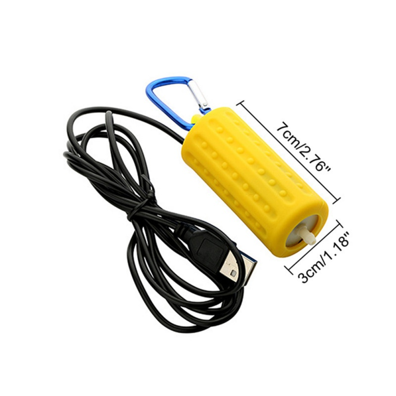 Ortable миниатюрный аквариум с USB Аквариум кислородный воздушный насос немой энергосберегающий поставки водный Террариум фильтр аксессуары д...