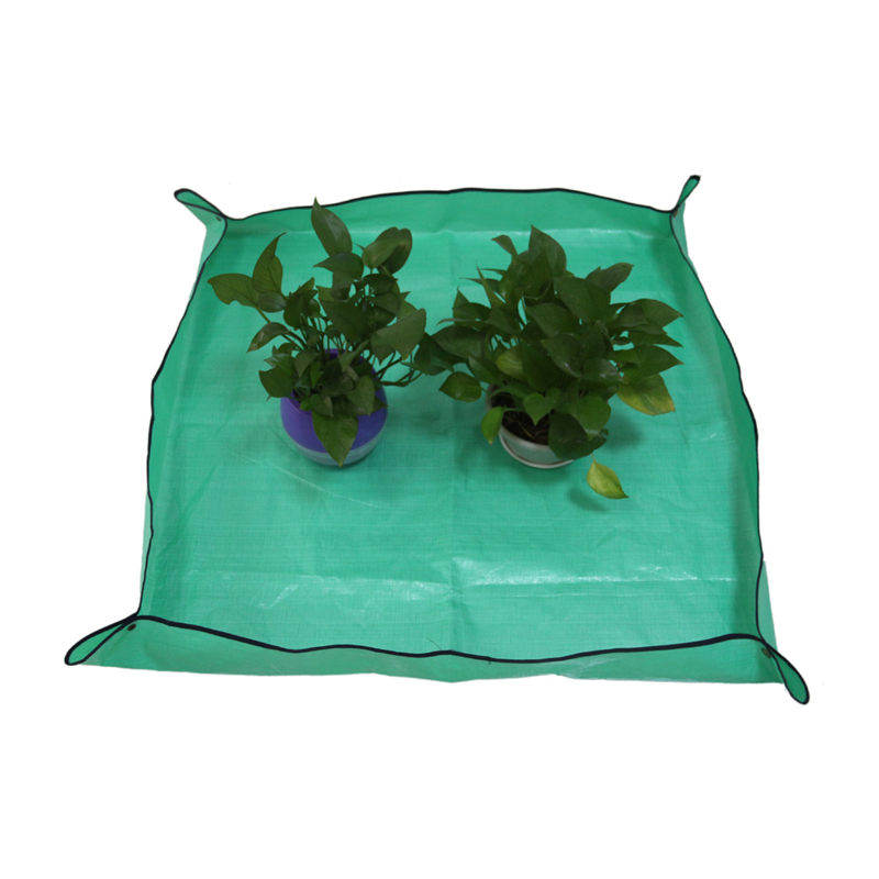 Pot-Pad Garden Waterproof PE For Green-Plant-Supplies Work-Cloth Transplanting Anti-Dirty