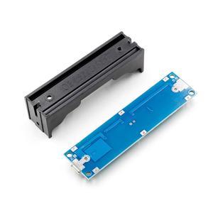 Image 5 - 5v/12v 18650 リチウムバッテリ昇圧ステップアップモジュール充電放電同時にups保護ボード充電器回路リチウムイオン