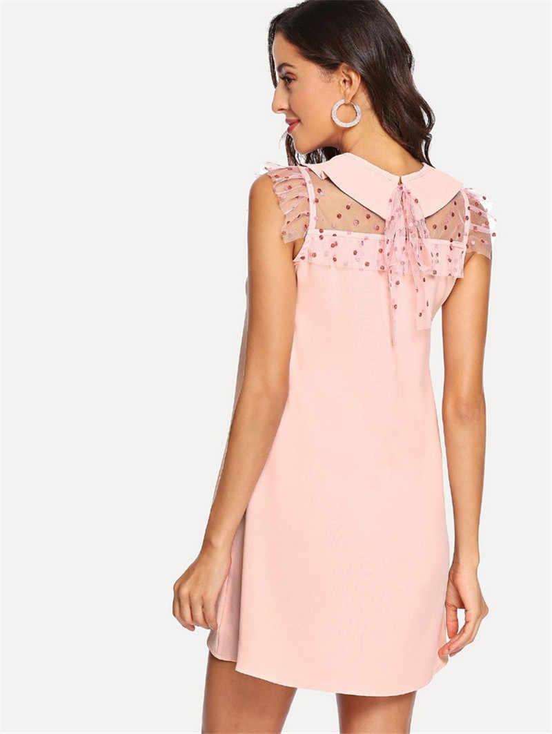 Hippie Chic Dress Ukraina Wanita Pakaian Kim Kardashian Pin Up Zanzea Fashion Tunik Wanita Merah Muda O Leher Mini Seksi sundress