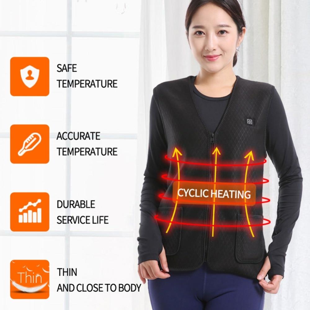 Woman Vest Heated