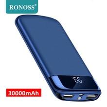 For Xiaomi Samsung iphone 7 8 X 30000mah Power Bank External