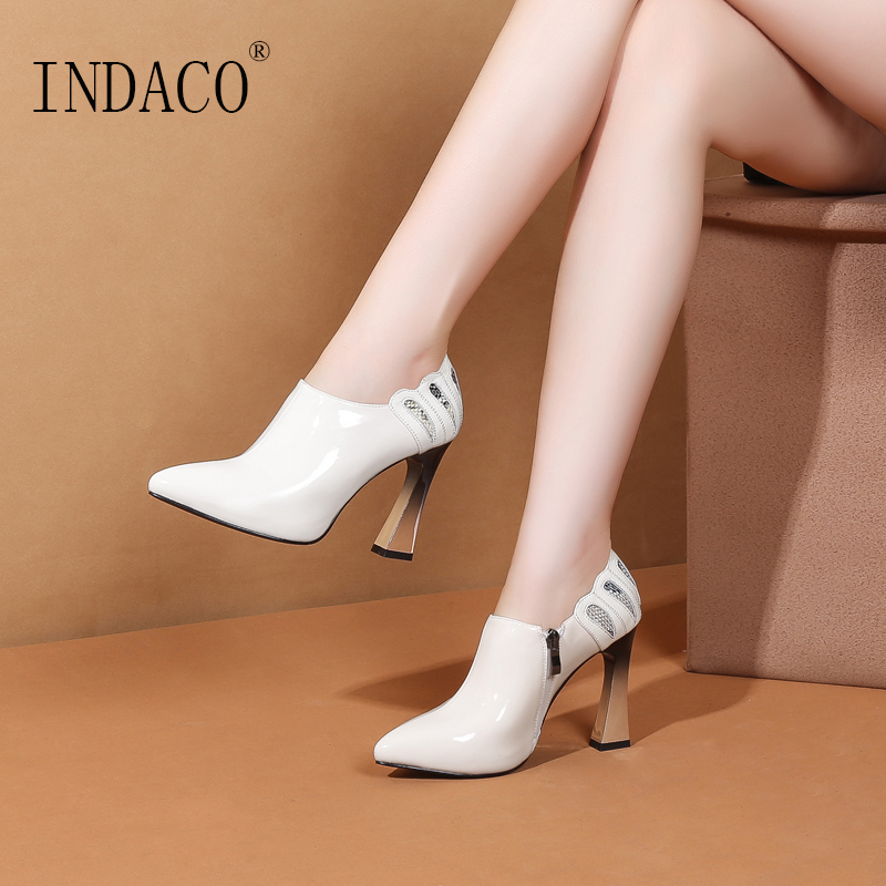 Women Winter Boots Autumn Fashion Ankle for 10cm