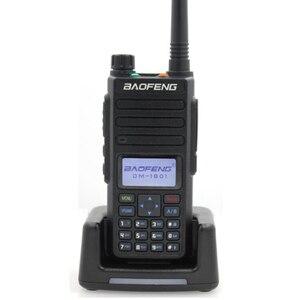 Image 1 - 2020 Baofeng DMR DM 1801 ווקי טוקי VHF UHF 136 174 & 400 470MHz Dual Band Dual זמן חריץ Tier 1 & 2 דיגיטלי רדיו DM1801