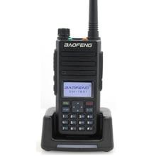 2020 baofeng dmr DM 1801 walkie talkie vhf uhf 136 174 & 400 470mhz faixa dupla slot de tempo duplo nível 1 & 2 rádio digital dm1801