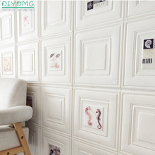 3D DIY Wallpapers XPE Foam Self adhesive Waterproof Wall Stickers Wallpaper Art for Living Room Bedroom Decor Brick Stickers