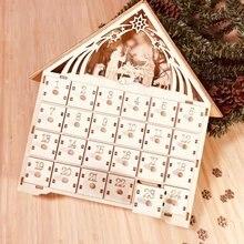 Липа advent diy календарь с 4 акварельными ручками 24 выдвижными