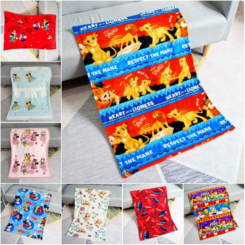 Disney Newest Lion King Simba Winnie Children Birthday Gift Flannel Blankets Baby Swaddle Wrap Blanket 70x100cm For Kids Pet