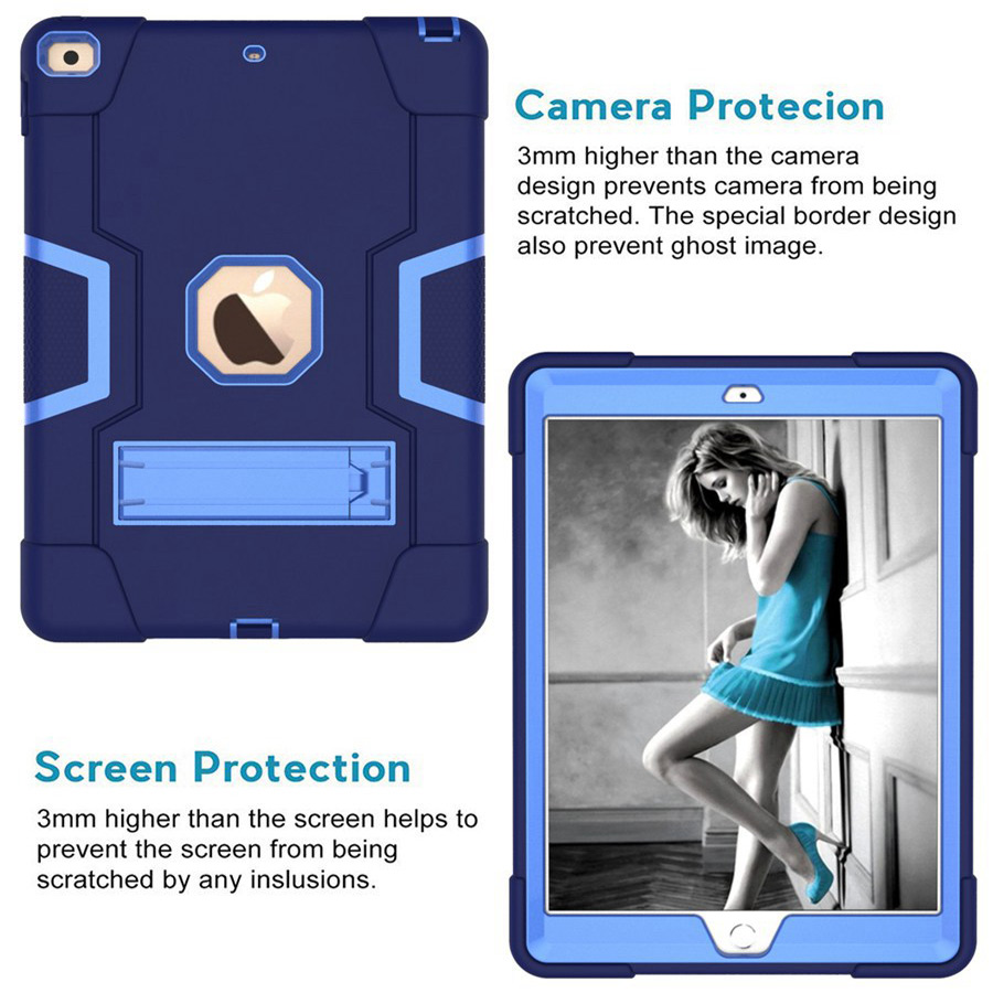 New Baby Safe Shockproof Armor Case For Apple iPad 10 2 2019 iPad 7 7th Generation