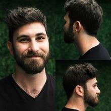 Изысканные моно 6x8 прочные шиньоны Кружева Тонкий ПУ заменить мужчин t система для мужчин Toupees человеческие волосы Dolago Remy