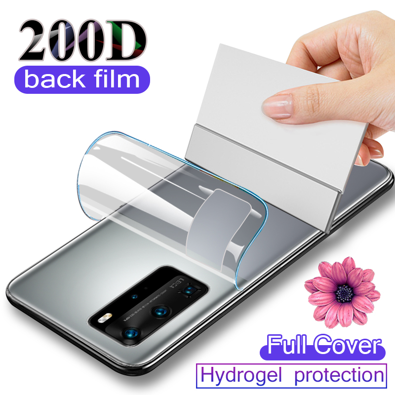 200D Screen Protector For Huawei P30 P20 P40 Lite Protection Film For Huawei P Smart 2019 Mate 20 Pro Hydrogel Film Not Glass