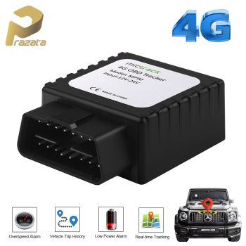 4G LTE Car Tracker OBD 2 Car GPS Tracker MP90 OBD Plug Tkstar GPS Tracker Real-time Tracking Locator Un-plug Alarm Free Platform image