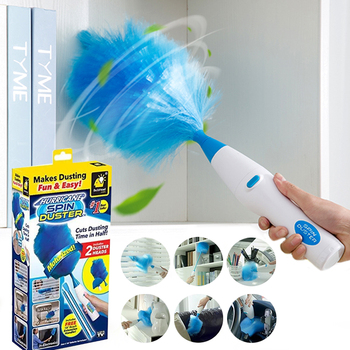 Multi-Purpose Soft Microfiber Duster Electric Feather Duster Multifunctional Soft Microfiber Dust Cleaner Brush For Home