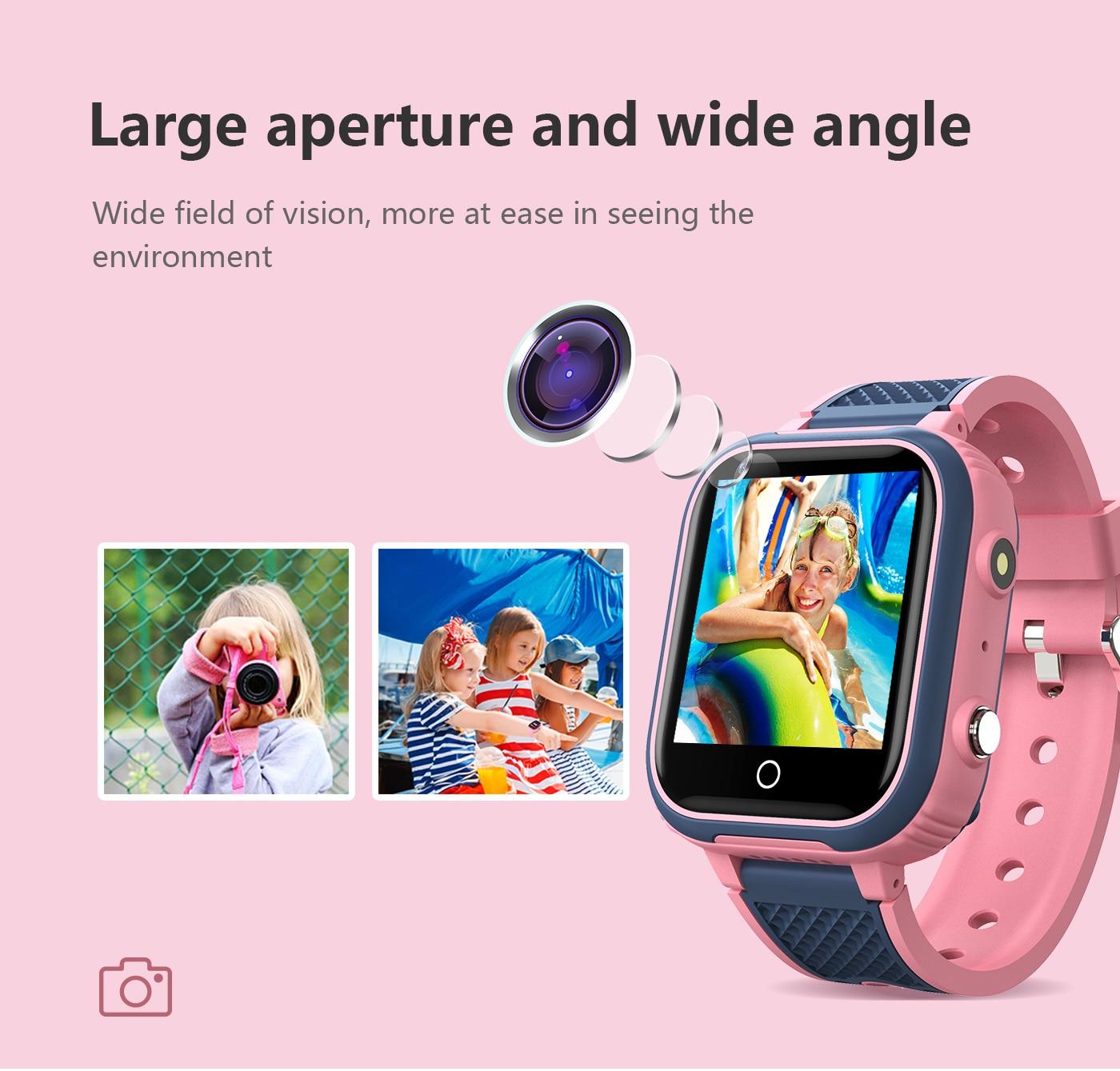 H3ca507b1acb641fea2412476f85b6227g LT21 4G Smart Watch Kids GPS WIFI Video Call SOS IP67 Waterproof Child Smartwatch Camera Monitor Tracker Location Phone Watch