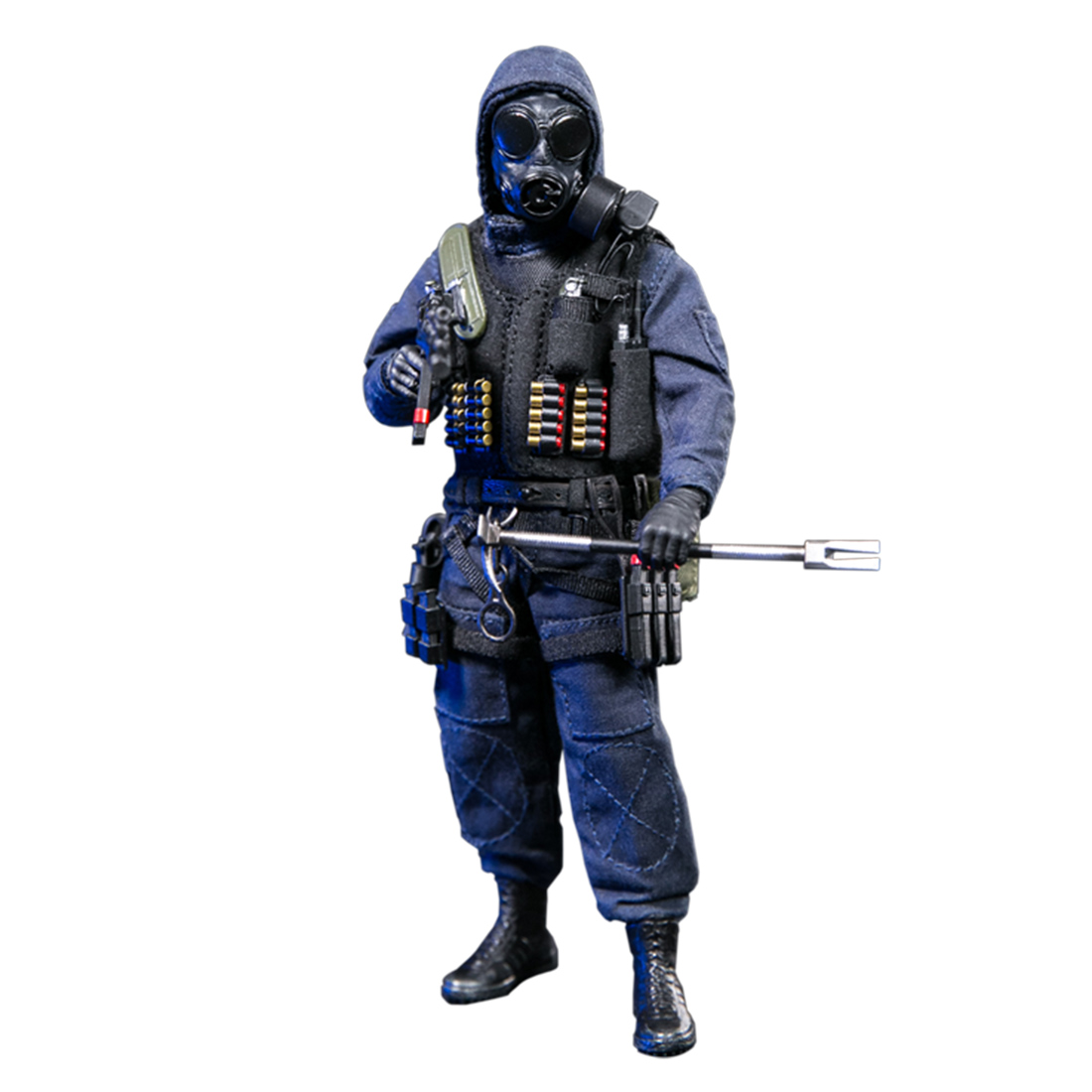 15cm 1/12 Soldier Action Figure Realistic Headsculpt DIY Handmade SAS CRW Breacher Soldier Model