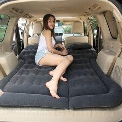 Samochód powietrze nadmuchiwane odkryty Camping Mat podróży łóżko z materacem uniwersalny na plecy poduszka na siedzenie wielofunkcyjna Sofa poduszka poduszka