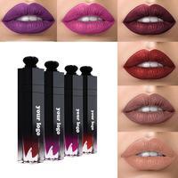Private Label Matte Lipstick Waterproof Custom Logo Lip Gloss Liquid Lipstick Wholesale Makeup Long Lasting OEM Cosmetics