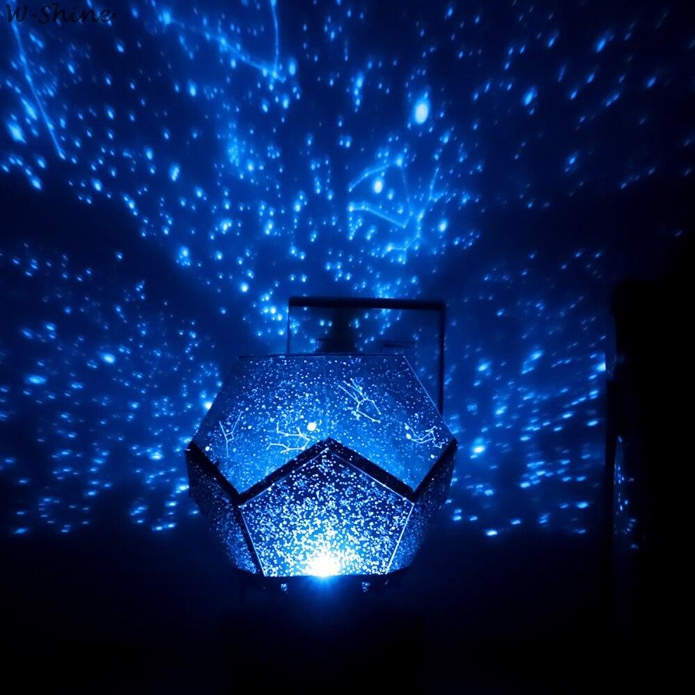 3 colores cielo estrellado luz de noche proyector giratorio lámpara de noche para niños dormitorio constelación proyección hogar planetario Lámpara colgante mono de oro blanco y negro de resina para sala de estar lámparas de habitación Sala de Arte sala de estudio luces Led lustre con bombilla Led E27