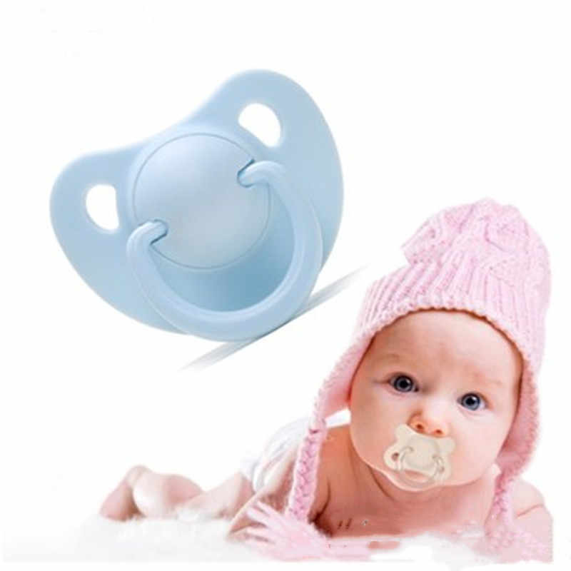 Baby Safe Pacifier Nipple Newborn Kids Baby Boys Girl Dummy Nipples Food-grade Silicone Pacifier Orthodontic Soother 0-36 Months