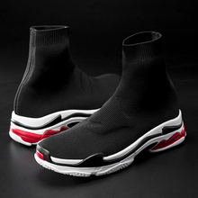 Men fashion casual shoes breathable light simple slip couples