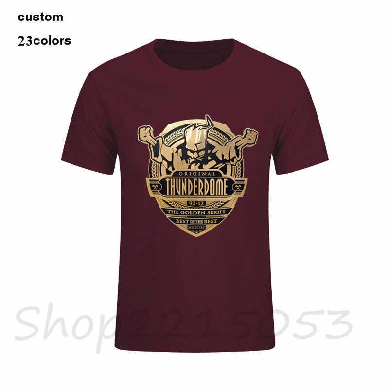 2020 nueva camiseta para hombre, camisetas de 100% algodón con estampado casual juvenil de manga corta Techno y Gabber, talla grande XXXL