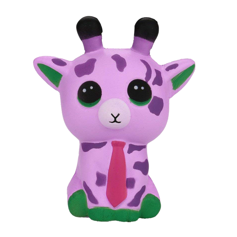 Cute Lovely Galaxy Deer Cartoon Animal Squishy Toys Soft Slow Rising Squishy Toys With Good Smell Scented