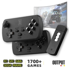 USB Wireless Handheld TV Video Game Console Build In 3500 Classic Game 8Bit Video Console Support HDMI TV Game Console