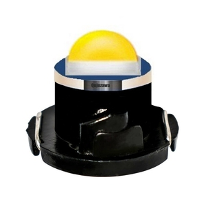 Image 1 - 100pcs T3 T4.2 T4.7 Cree Chip LED Bulb Car Dashboard Warning Indicator Light Instrument Cluster Lamp white red blue yellow green