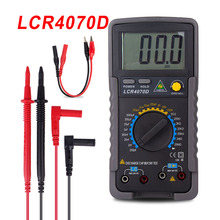 LCR4070D LCR Meter Professionelle Digital-Multimeter Kapazität Induktivität Widerstand Tester esr Meter lc Meter Kondensator Tester