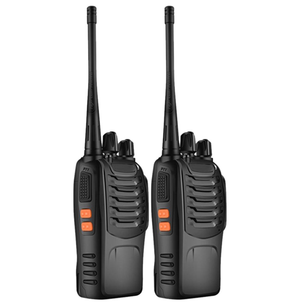 BF-888S Outdoor Walkie Talkie Waterproof Intercom Long Range Work Mini Handheld Hotel Radio Two Way Portable Wireless Interphone